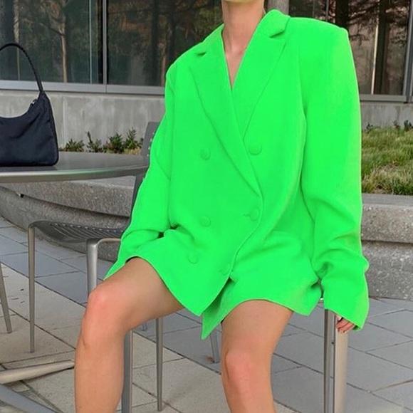 Jackets & Blazers - Oversize fit blazer